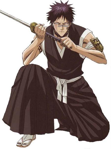 Milanoo Bleach Hisagi Shuuhei Halloween Cosplay Costume Halloween