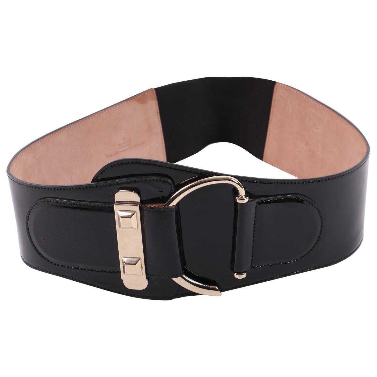 Cinturon de Charol Gucci