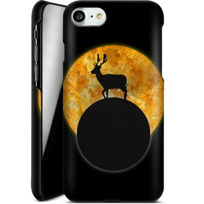 Apple iPhone 7 Smartphone Huelle - Deer on the Moon von Barruf