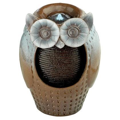 SH382534 Professor Owl Ceramic Garden