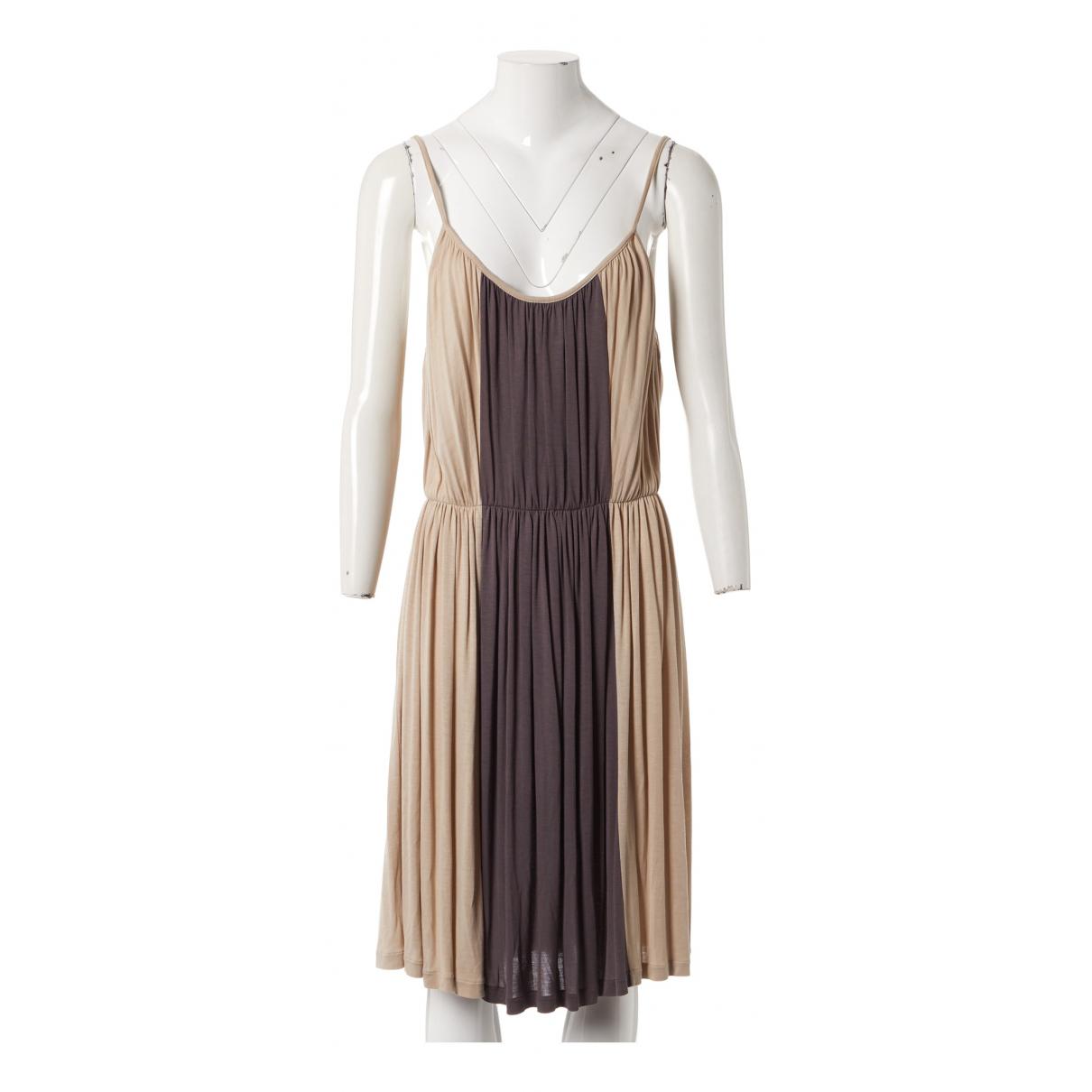 Chloe \N Kleid in  Braun Viskose