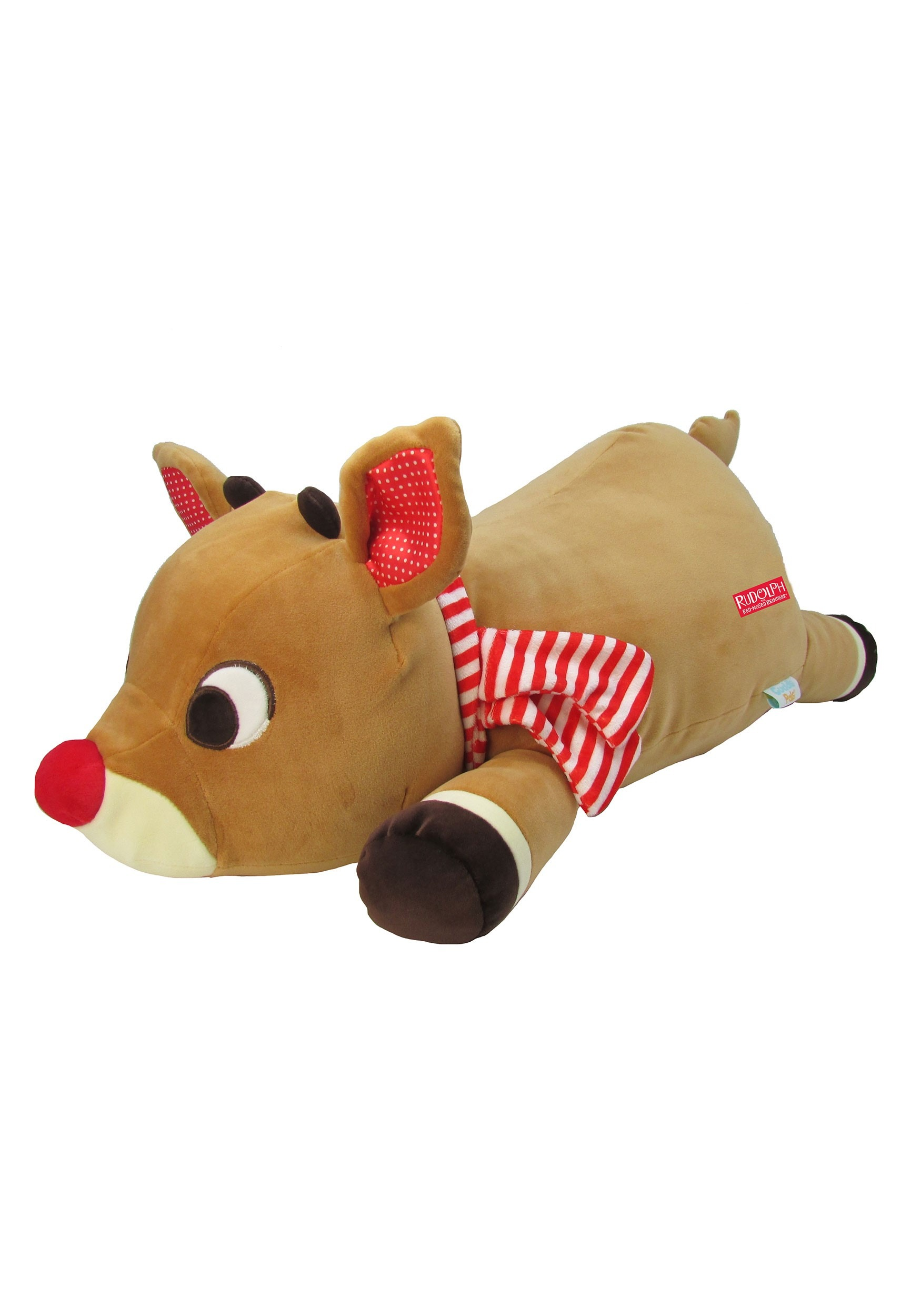 Cuddle Pal Rudolph the Red Nosed Reindeer Stuffed Figure