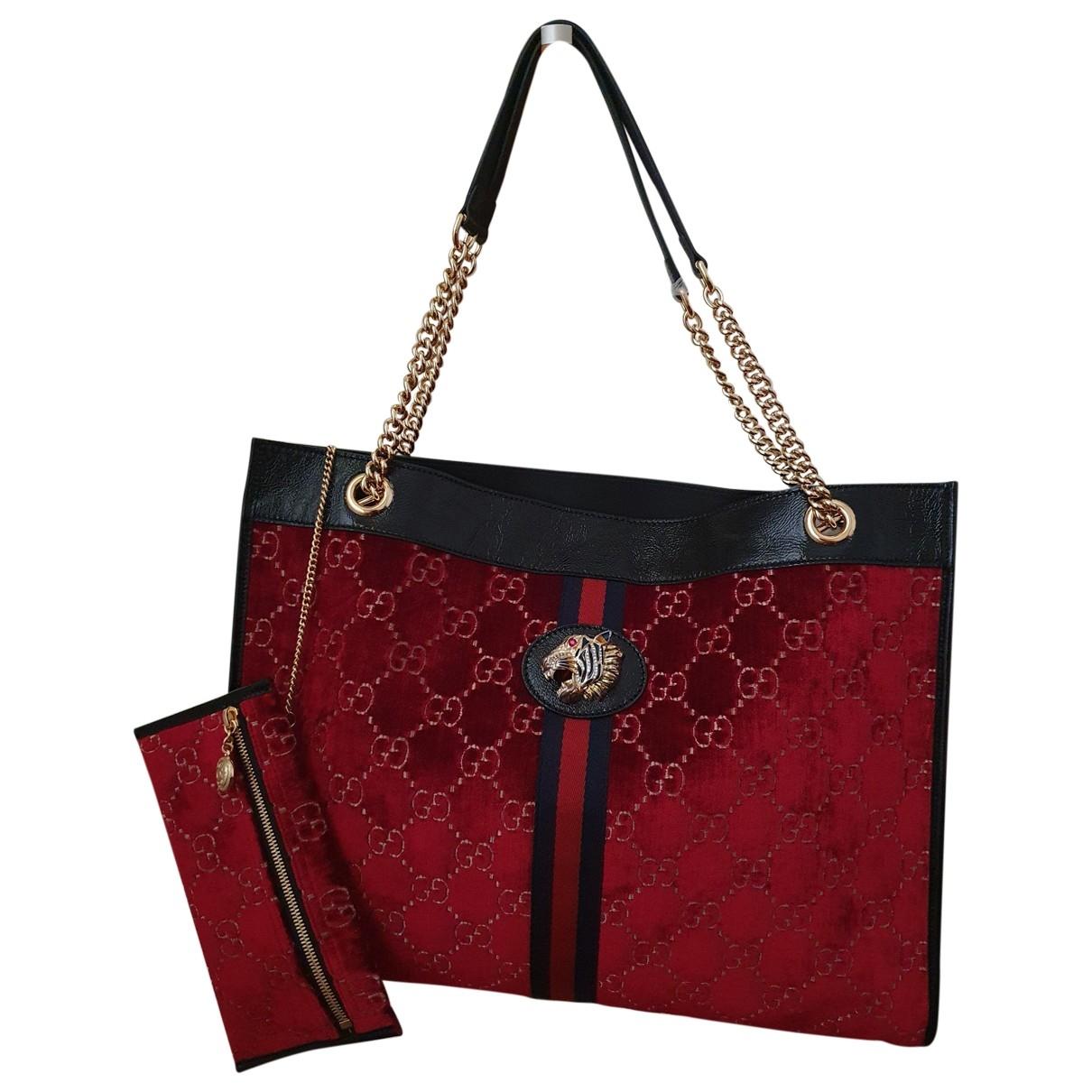 Gucci \N Red Velvet handbag for Women \N