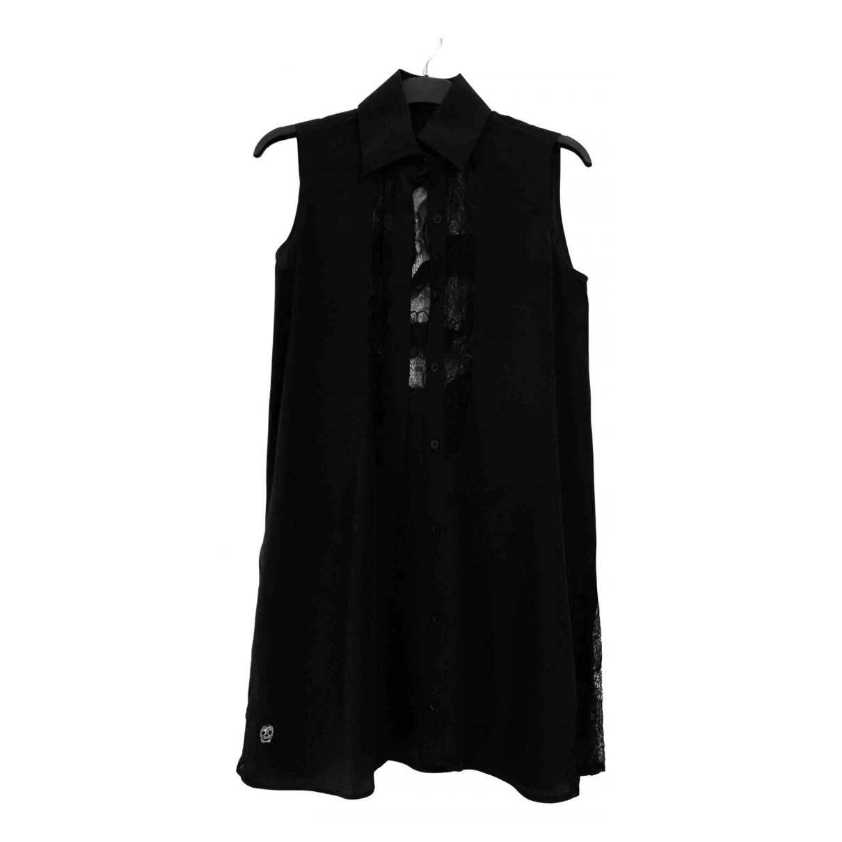 Philipp Plein \N Black Silk  top for Women S International