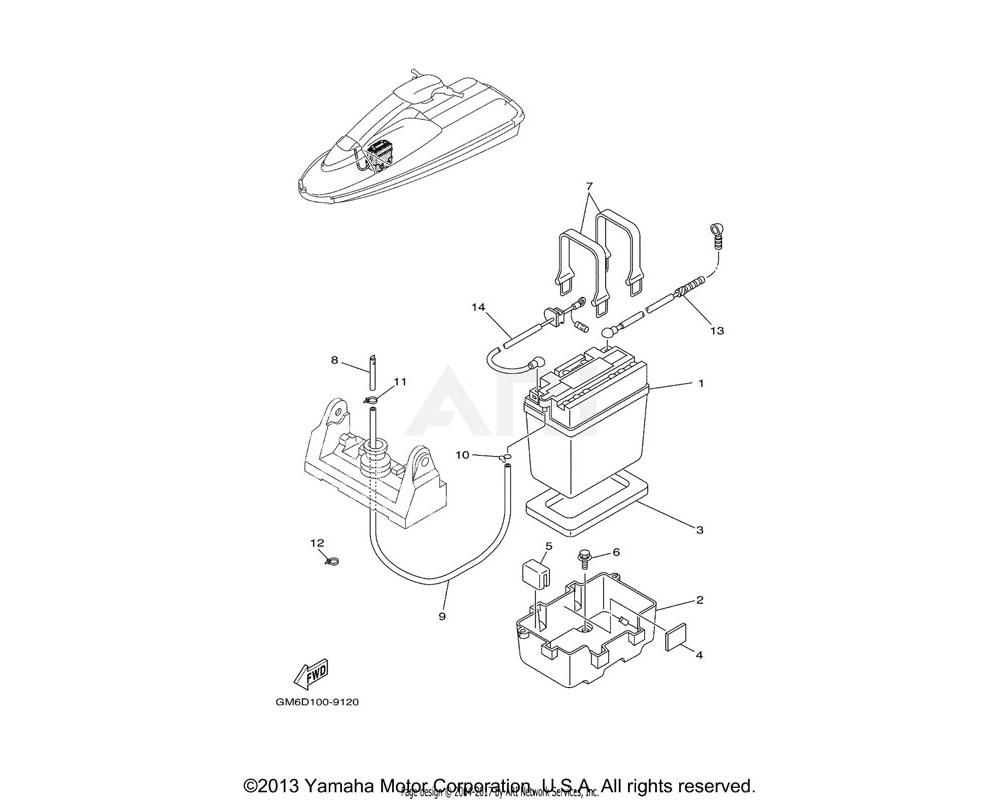 Yamaha OEM EW2-62149-00-00 PIPE, VENTILATION 1