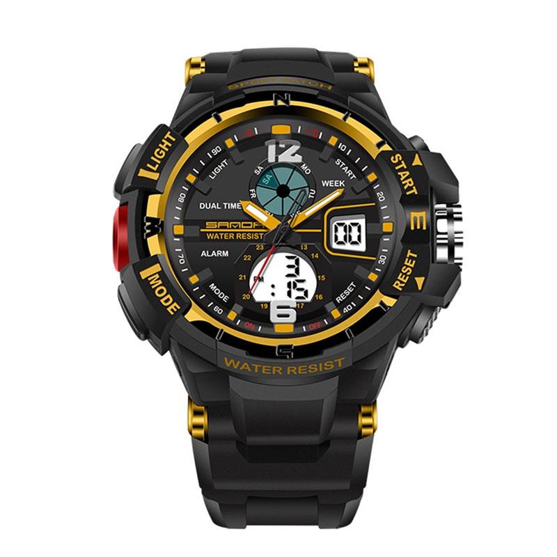 Ericdress JYY SANDA Brand Outdoor Sports Men's Watch Display 30 Meters Waterproof