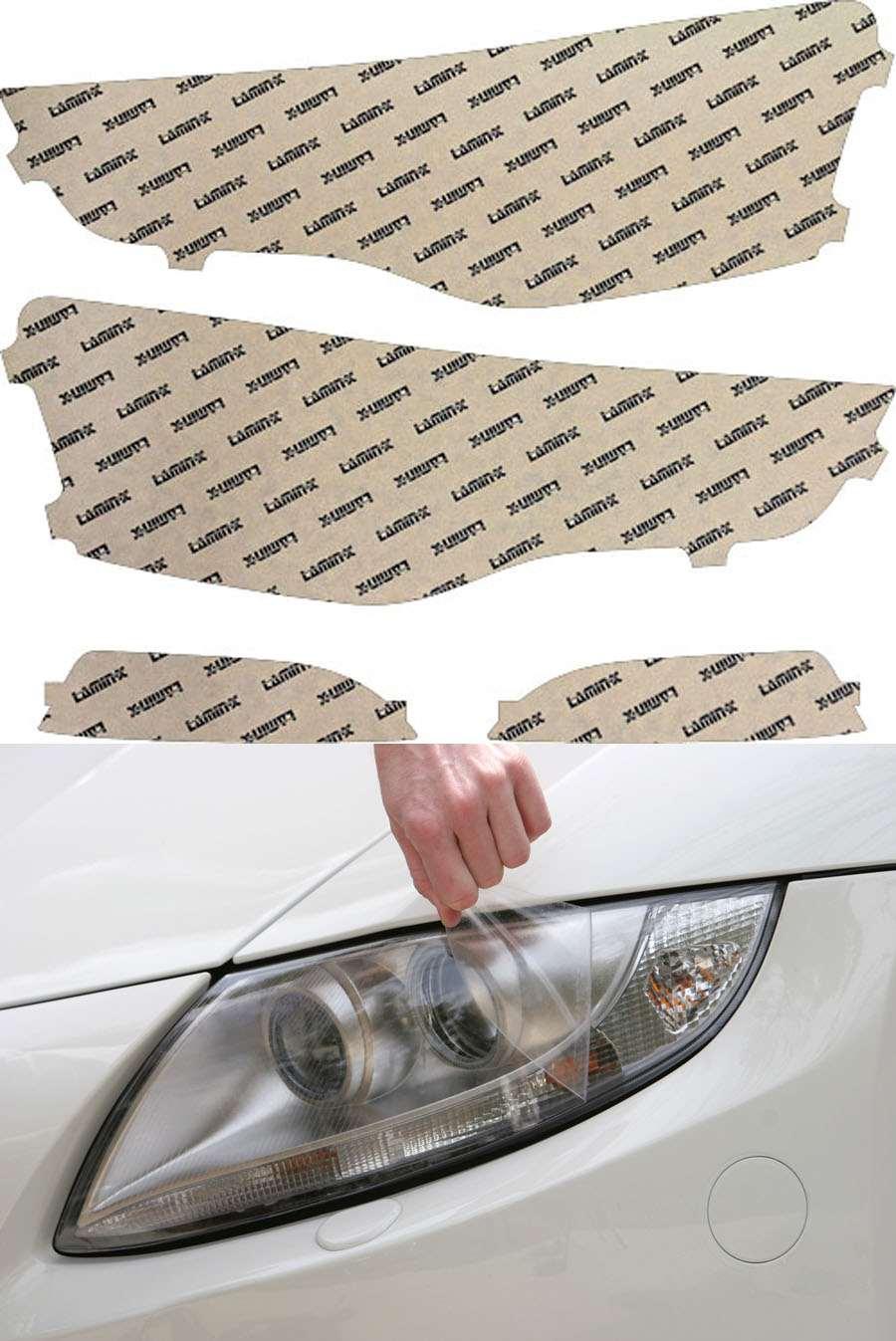 Audi A5 13-20 Clear Headlight Covers Lamin-X A034CL