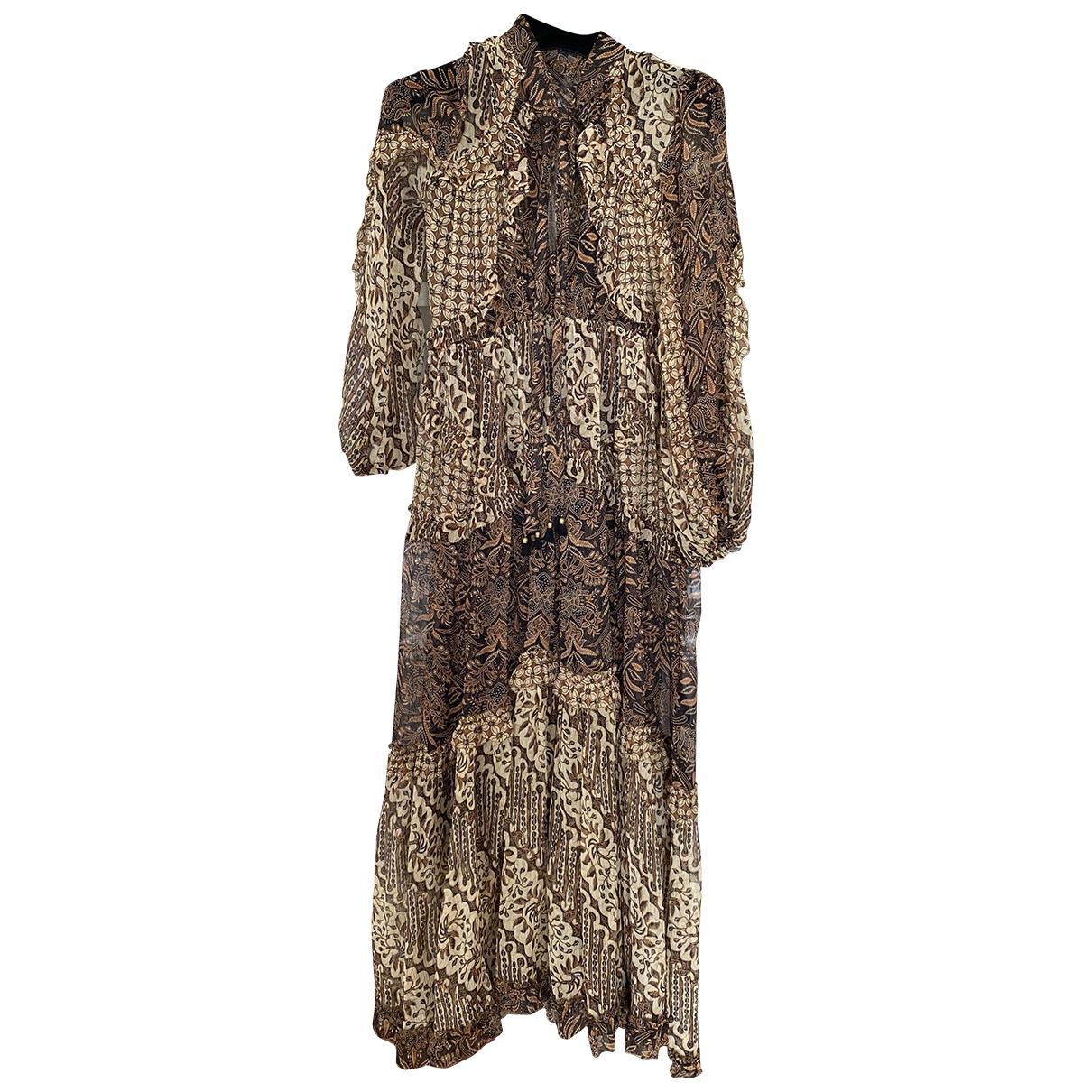 Maxi vestido de Seda Zimmermann
