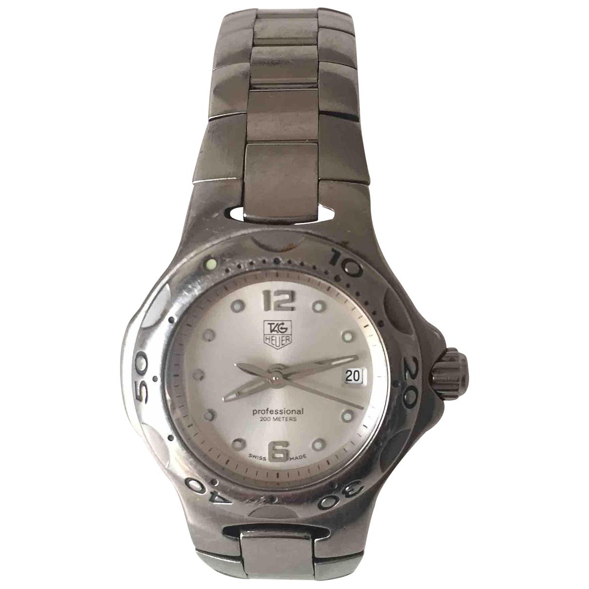 Tag Heuer \N Silver Steel watch for Women \N