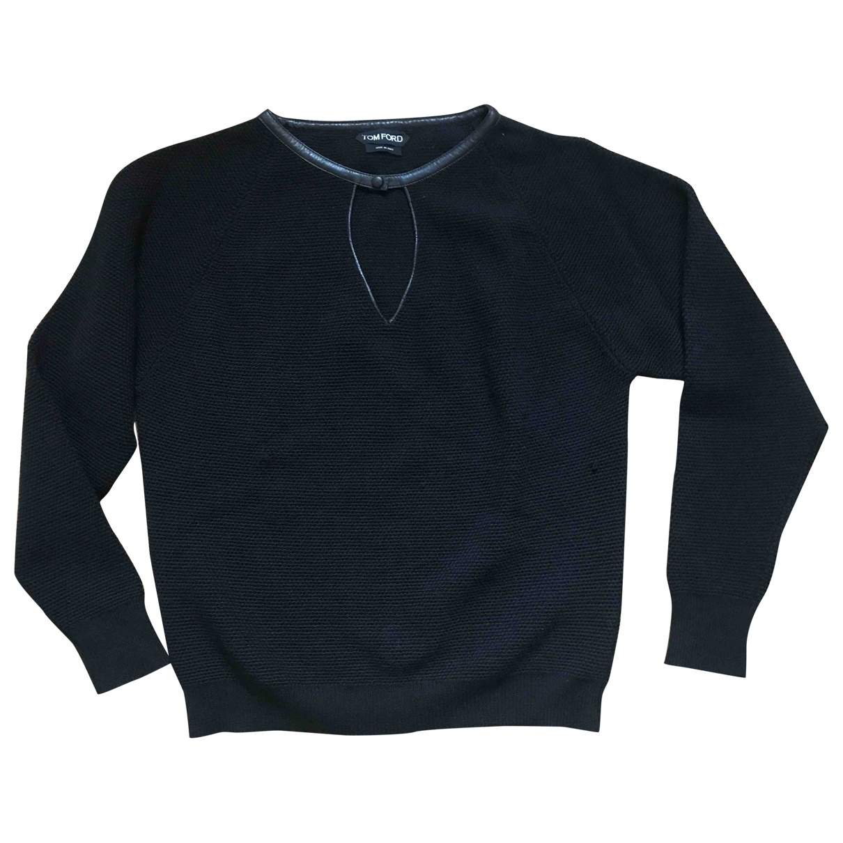 Tom Ford \N Pullover in  Schwarz Wolle