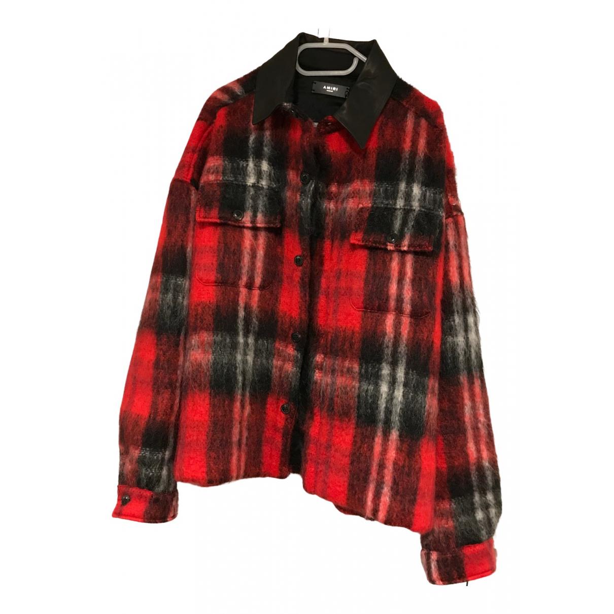 Amiri \N Jacke in  Rot Baumwolle