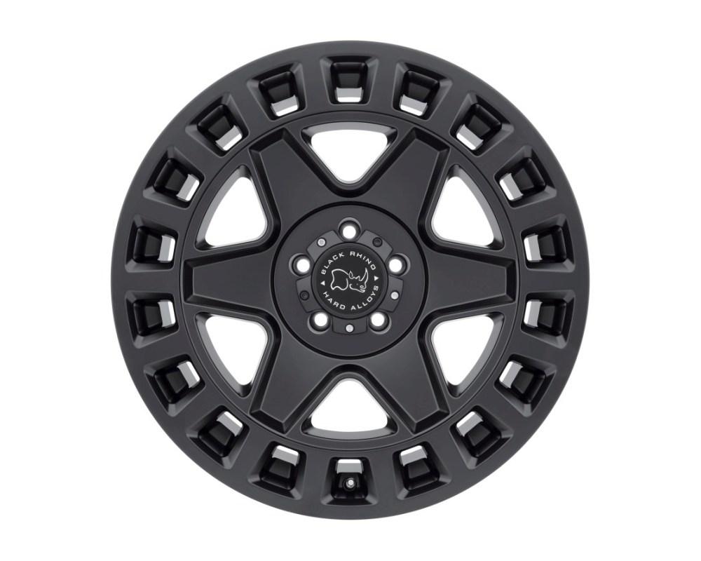 Black Rhino York Matte Black Wheel 17x9 5x139.70|5x5.5 0mm CB78.1