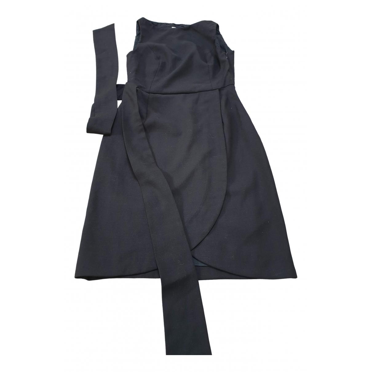 Red Valentino Garavani \N Kleid in  Schwarz Wolle