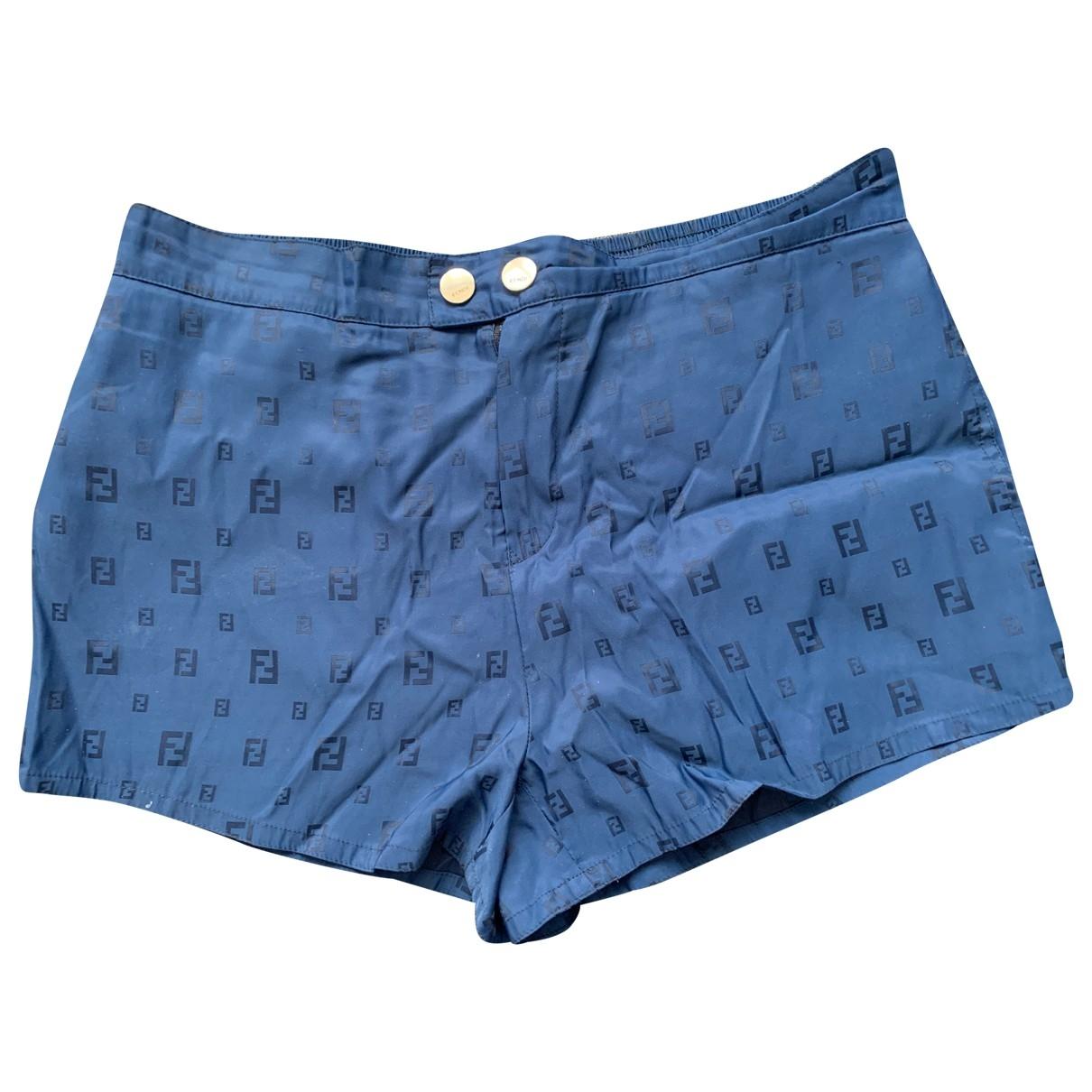 Fendi \N Shorts Blau