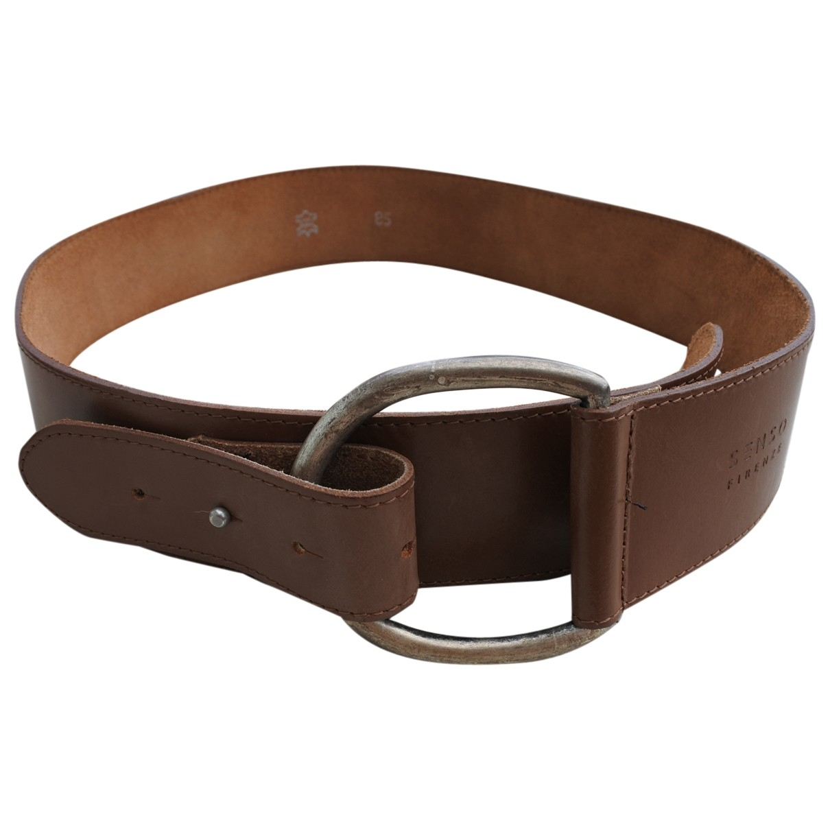 Senso \N Brown Leather belt for Women 85 cm
