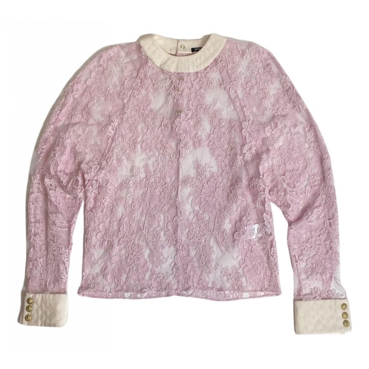 Balmain - Top   pour femme - rose
