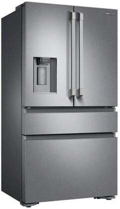 DRF36C100SR 36 Professional Series Counter Depth French Door Refrigerator with 22.6 cu. ft. Total Capacity  MetalCool Interior with LED Lighting