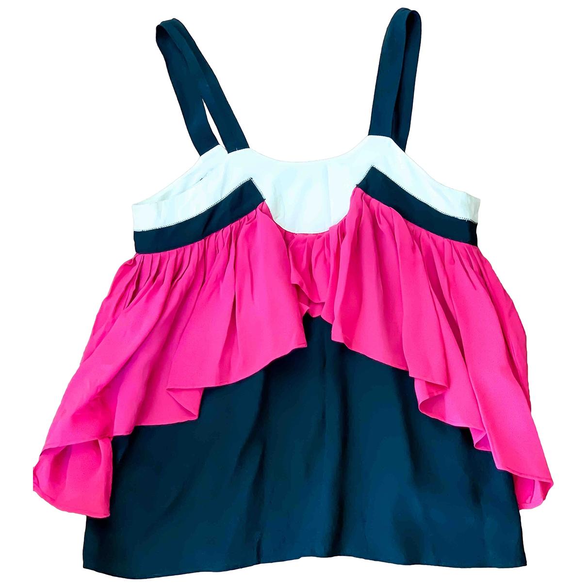 Iro - Top   pour femme en soie - rose