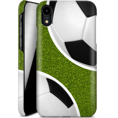 Apple iPhone XR Smartphone Huelle - Two Footballs von caseable Designs