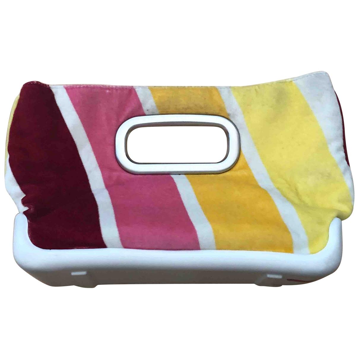 Prada \N Multicolour Velvet Clutch bag for Women \N