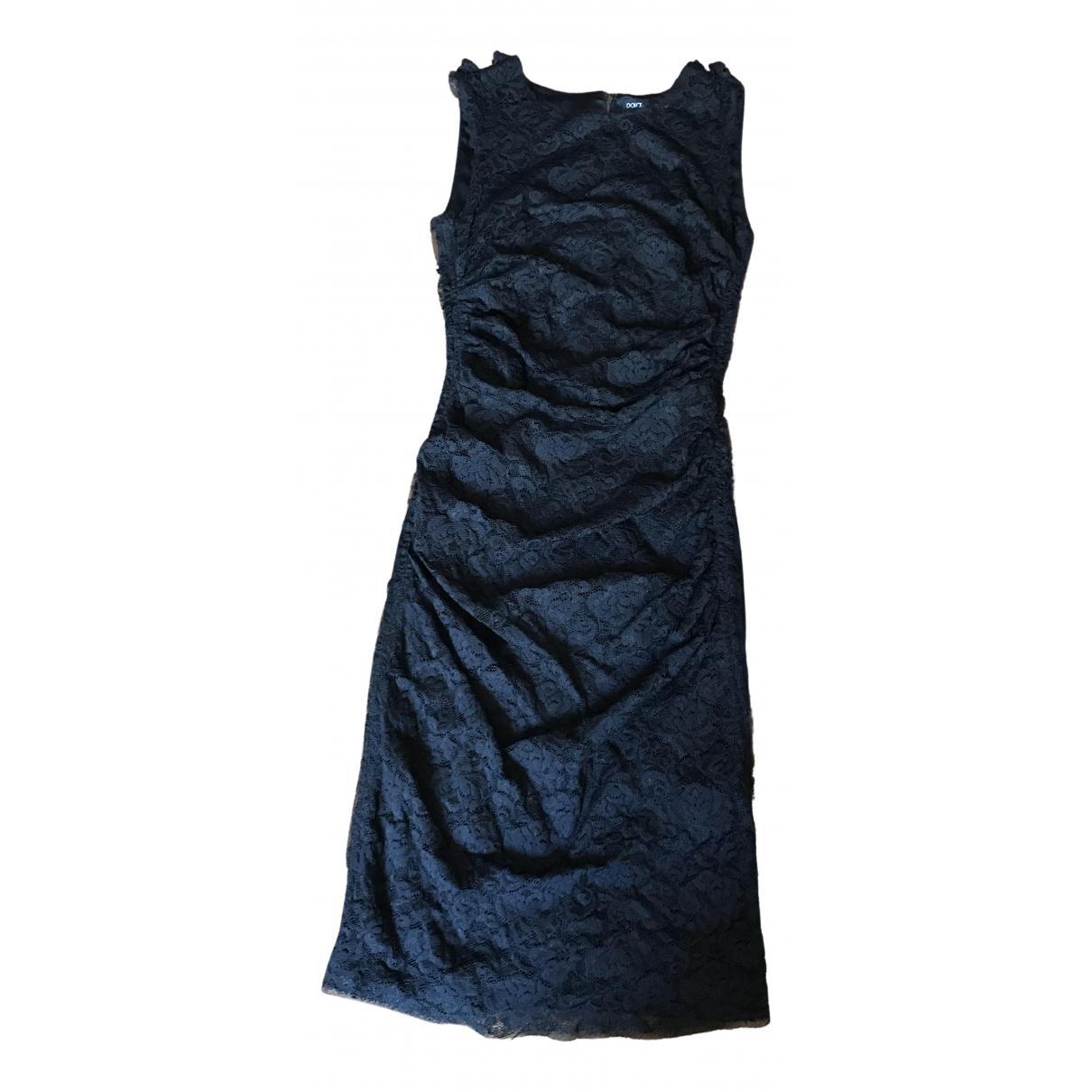 Dolce & Gabbana - Robe   pour femme en dentelle - noir