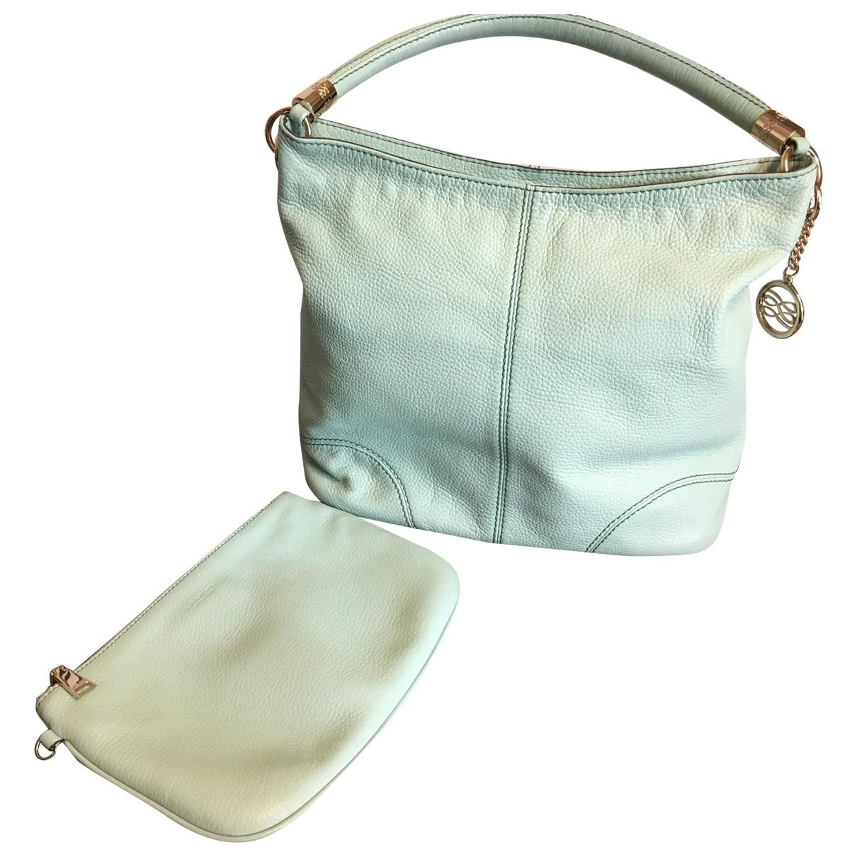 Lancel French Flair Green Leather handbag for Women \N