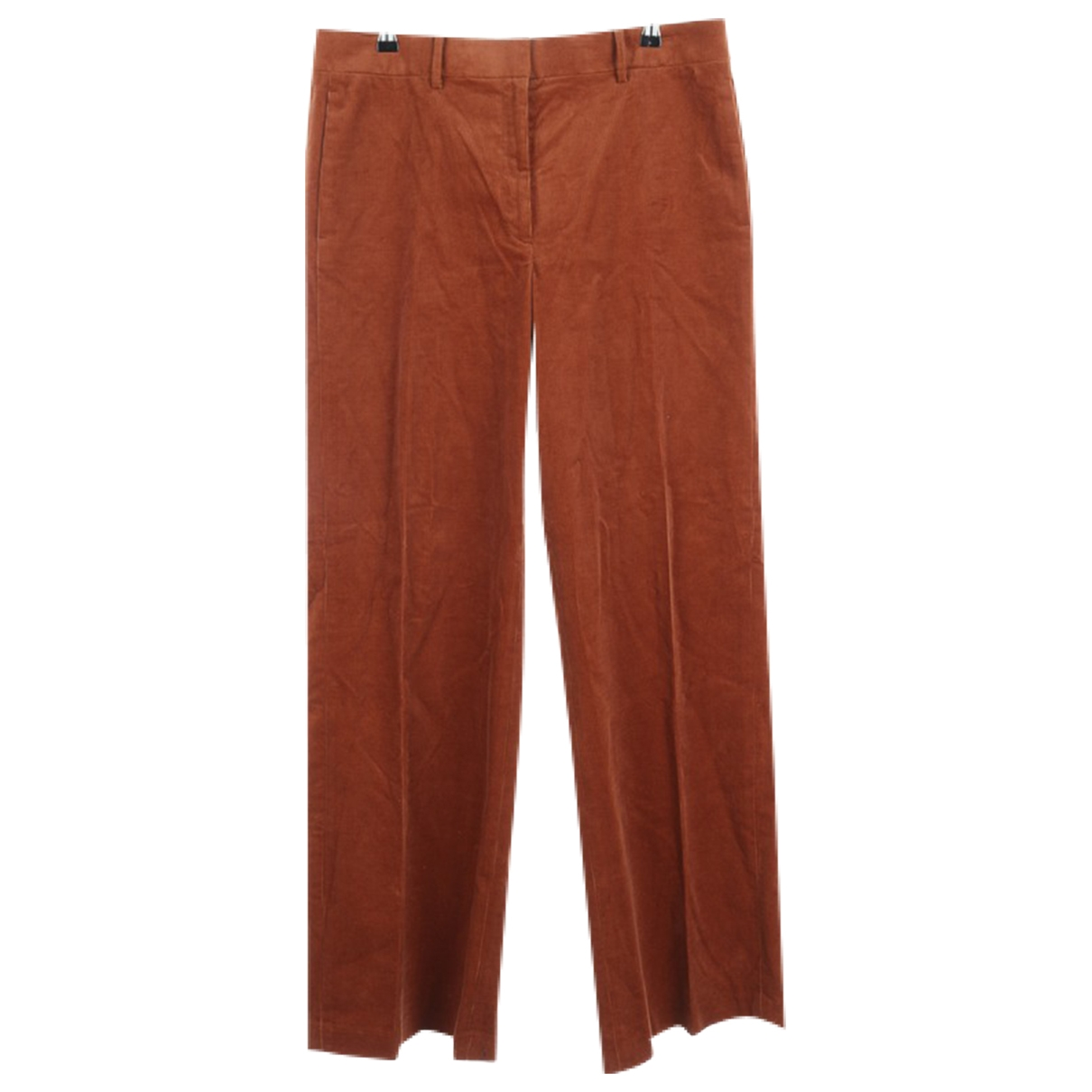 Tory Burch \N Brown Cotton Trousers for Women 32 FR