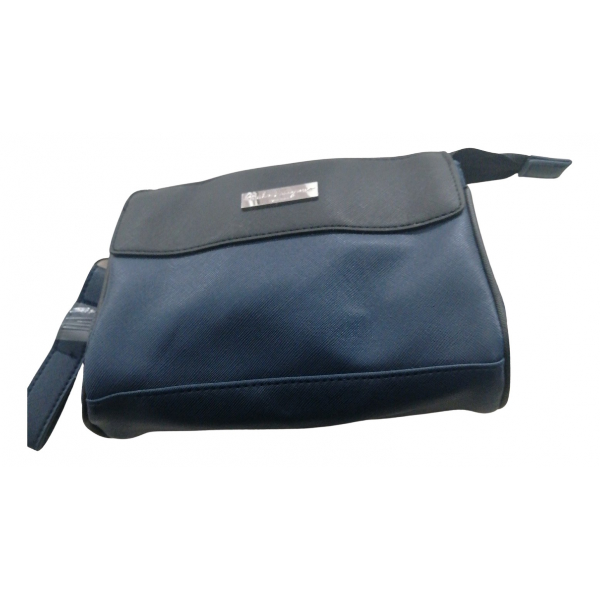 Salvatore Ferragamo N Blue Leather Clutch bag for Women N