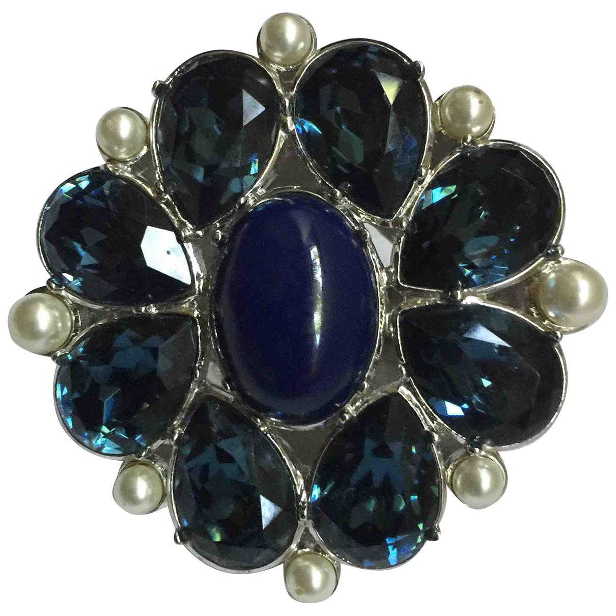 Christian Dior - Bague   pour femme en metal - bleu