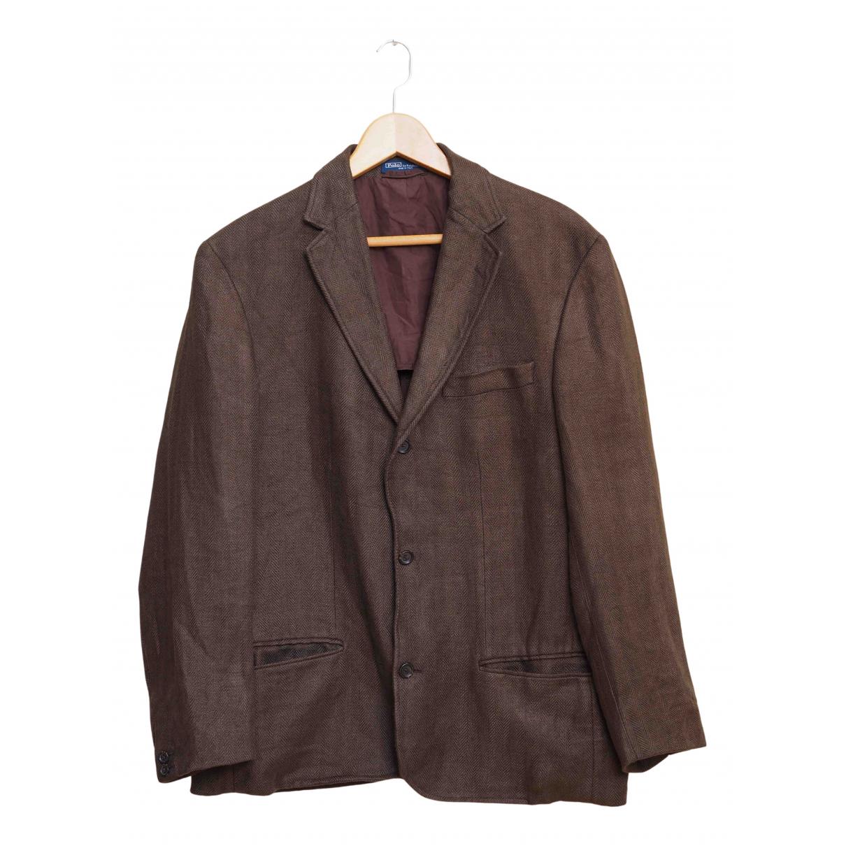 Polo Ralph Lauren - Vestes.Blousons   pour homme - marron