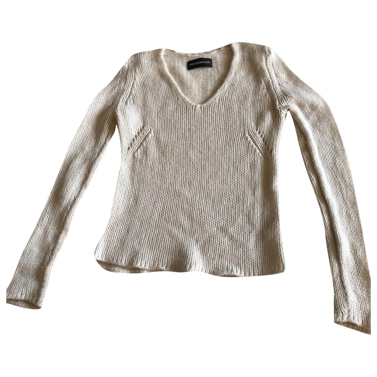 Zadig & Voltaire \N Ecru Cashmere Knitwear for Women M International