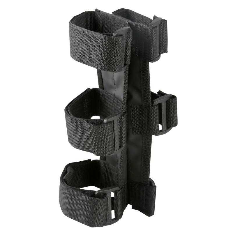 Rugged Ridge 63305.21 Fire Extinguisher Holder, Black, 1 Inch-3 Inch Tube/Roll Cage Jeep