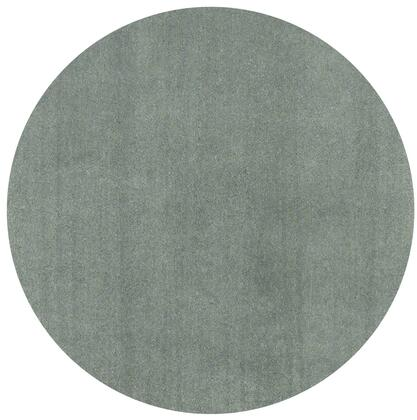 349783 8' Round Polyester Slate Area