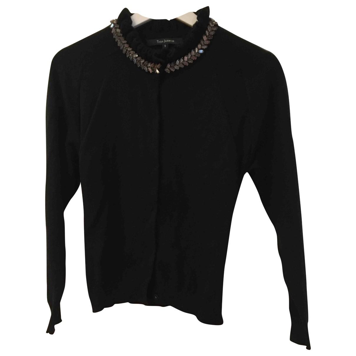 Tara Jarmon - Pull   pour femme en laine - noir