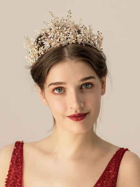 Milanoo Headpieces Wedding Headwear Metal Bridal Hair Accessories