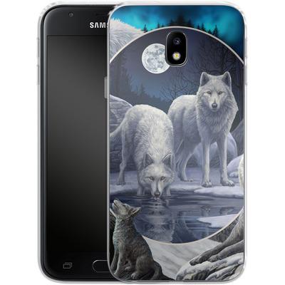 Samsung Galaxy J3 (2017) Silikon Handyhuelle - Wild Wolves von Lisa Parker