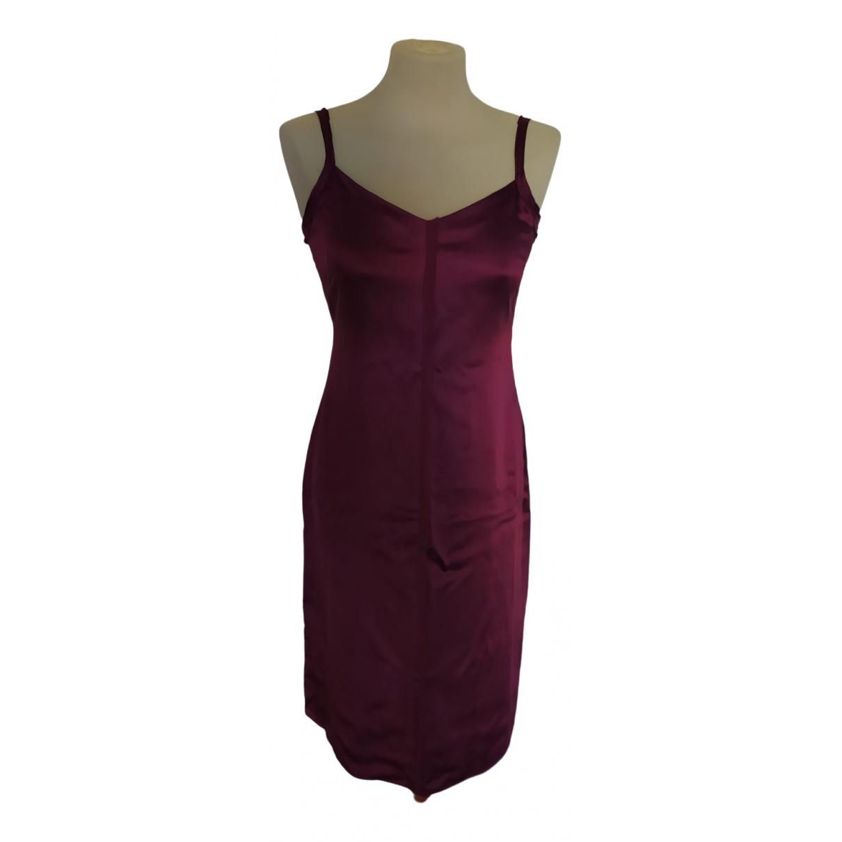 Angel Schlesser N Burgundy dress for Women 36 FR