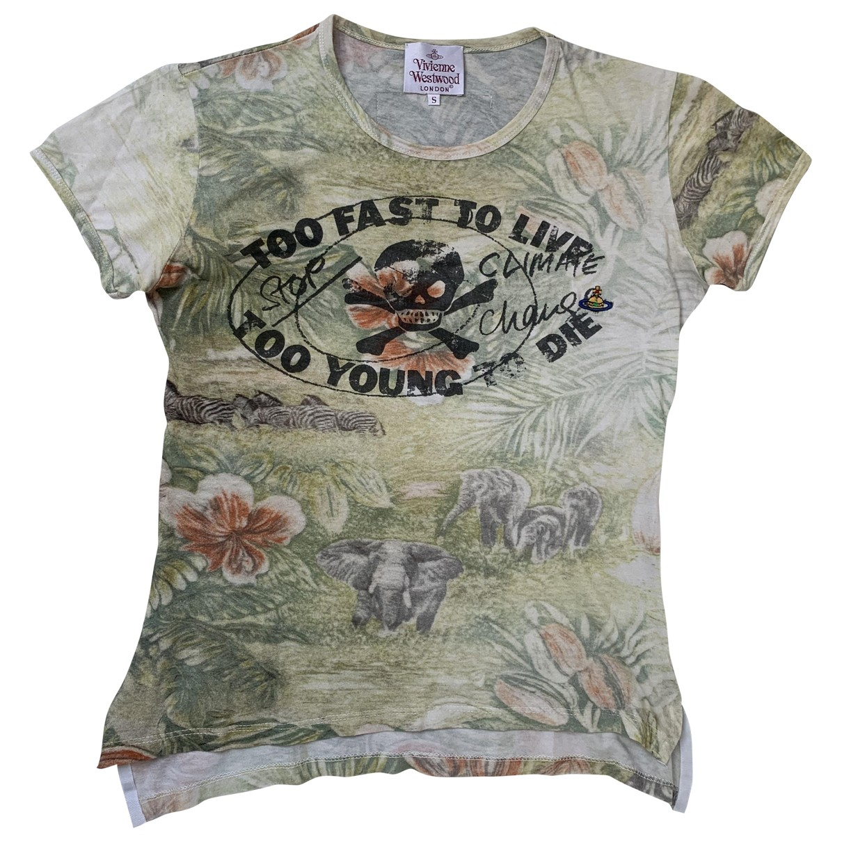 Vivienne Westwood \N Green Cotton T-shirts for Men S International