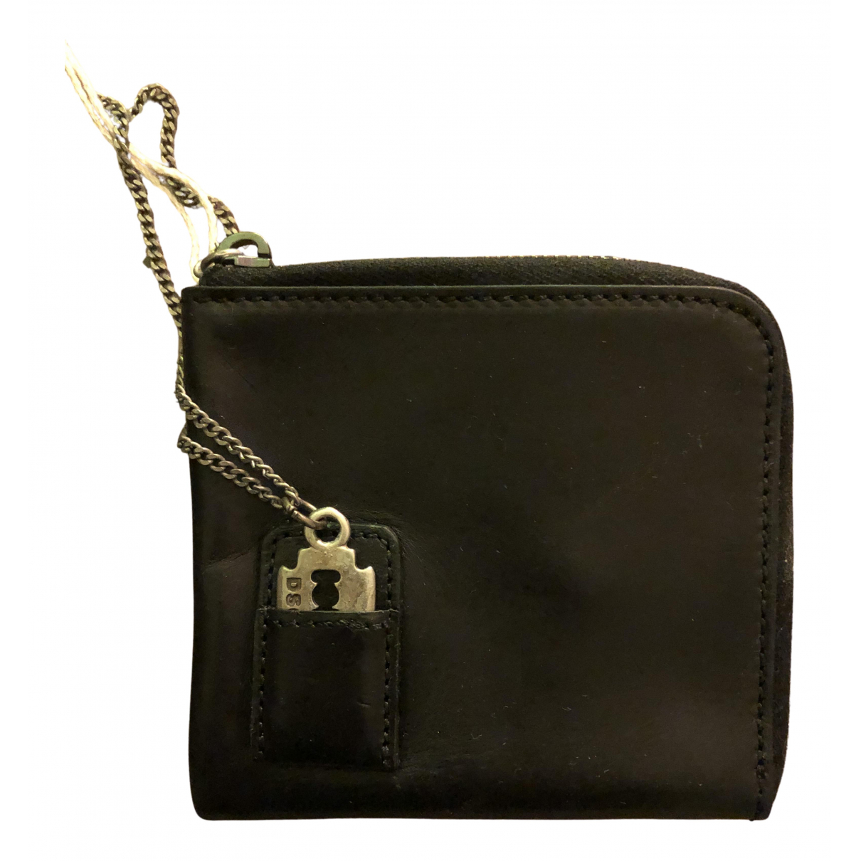 Dsquared2 N Black Leather Small bag, wallet & cases for Men N