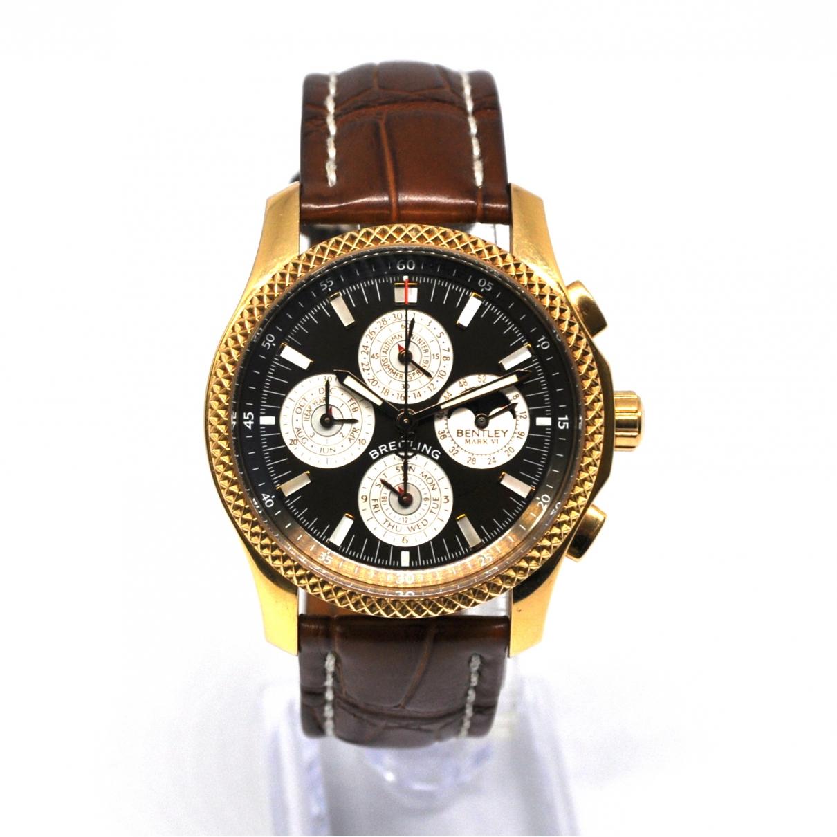 Relojes Breitling For Bentley de Oro rosa Breitling