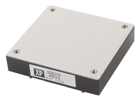 XP Power QSB300 300W Isolated DC-DC Converter PCB Mount, Voltage in 9 → 36 V dc, Voltage out 24V dc