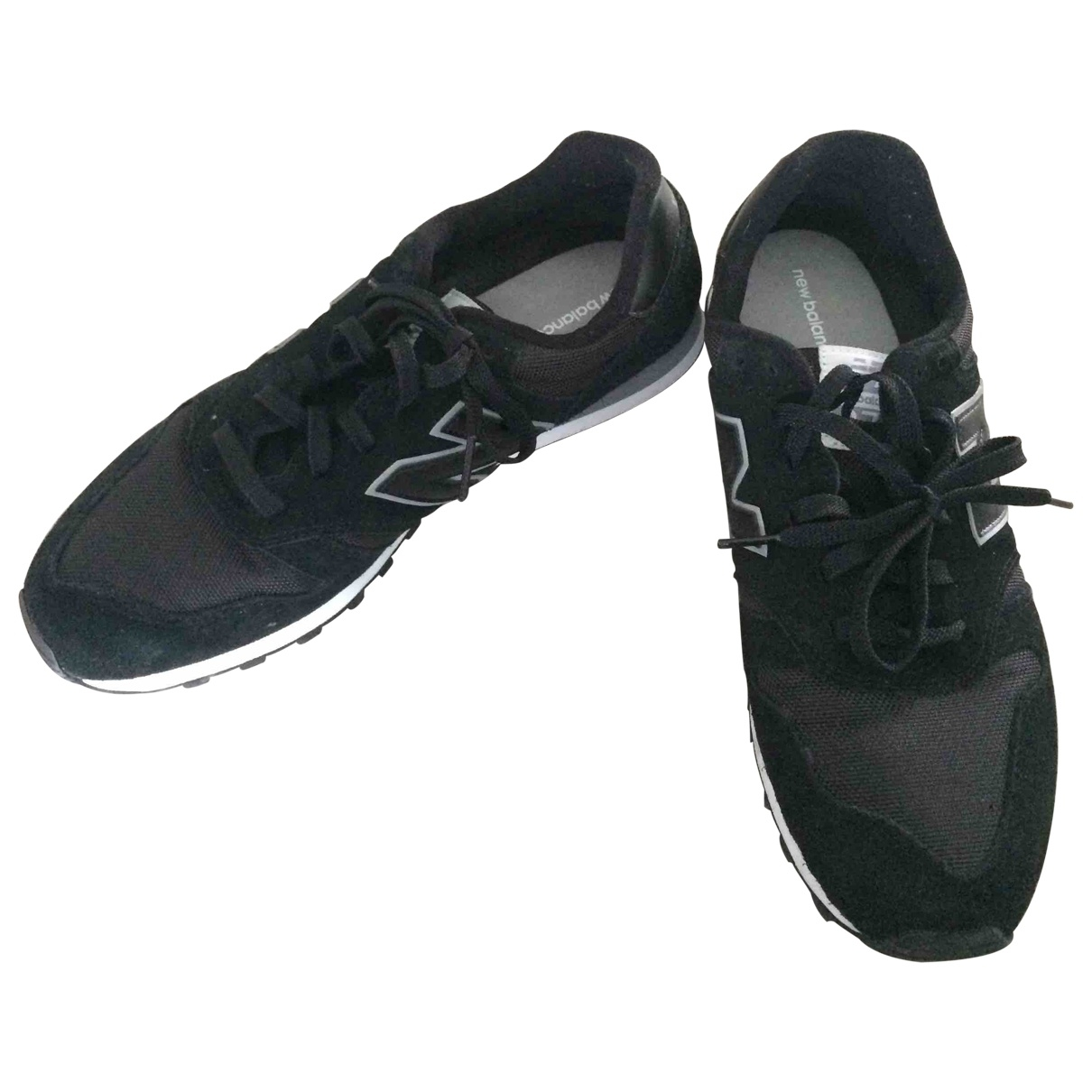 New Balance \N Black Cloth Trainers for Men 44.5 EU