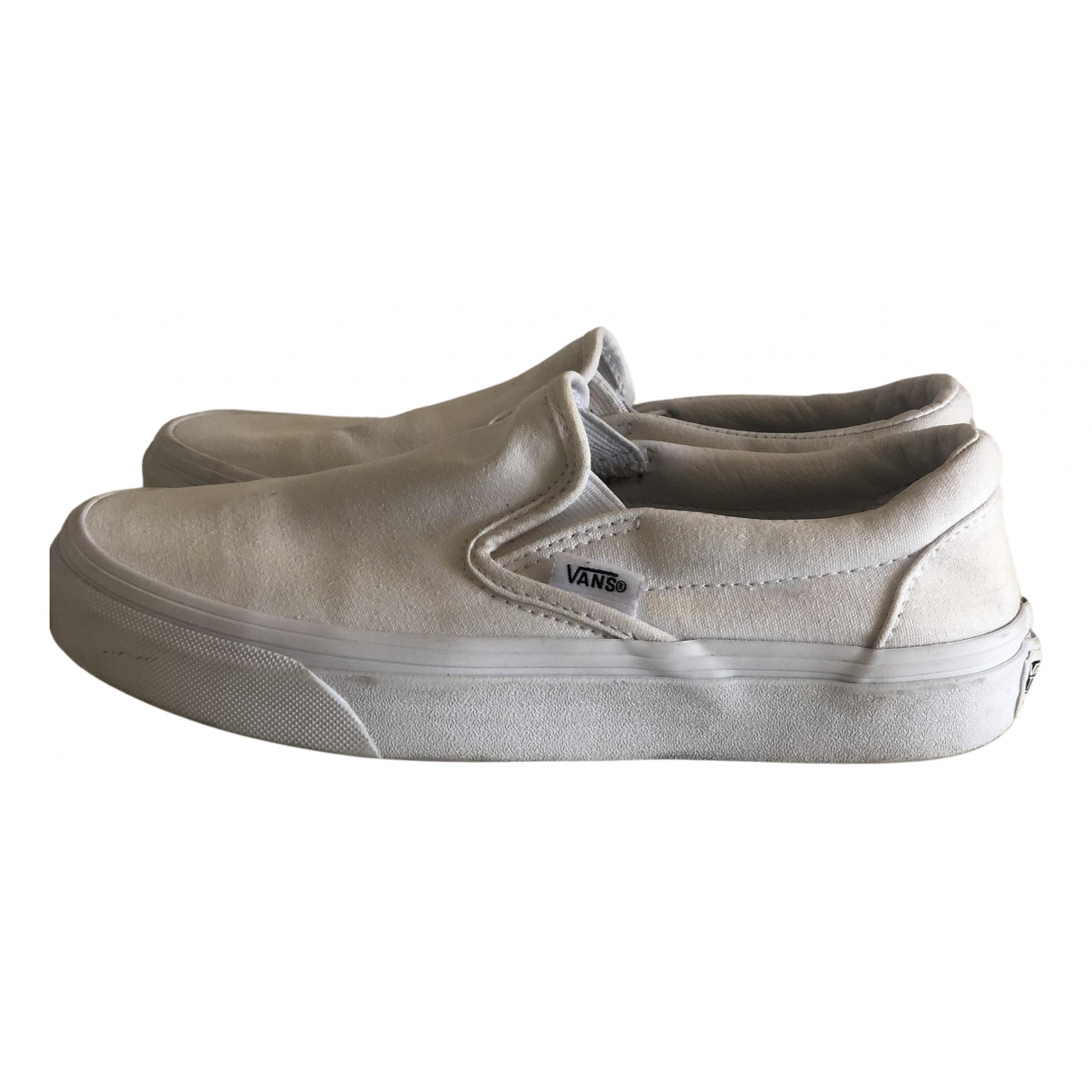 Vans N White Cloth Trainers for Kids 36 FR