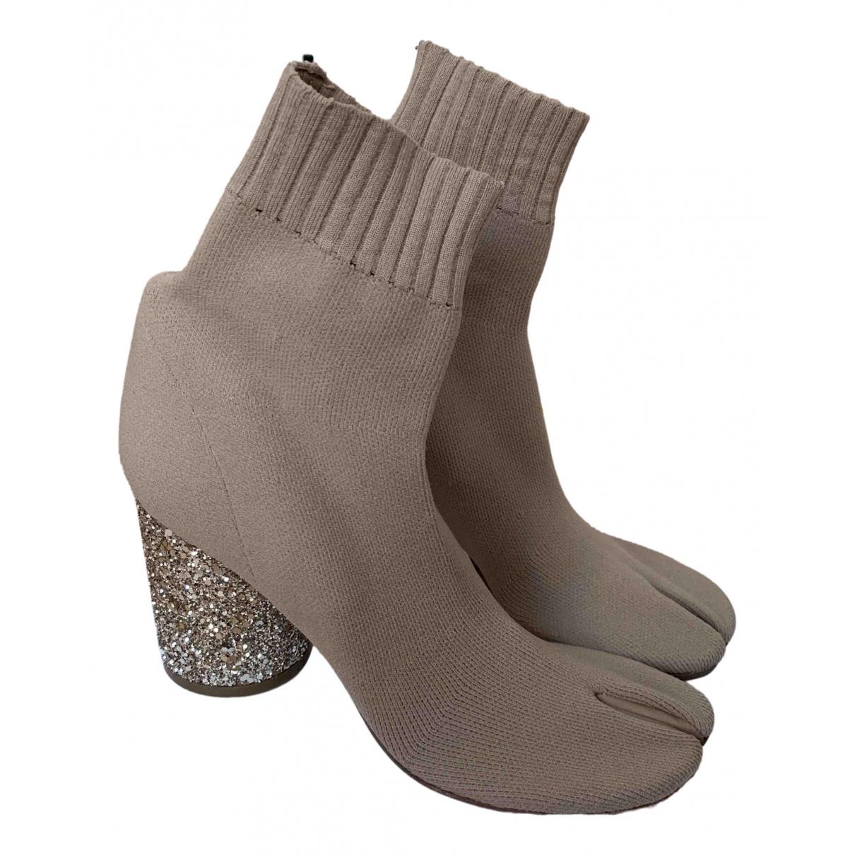 Maison Martin Margiela - Boots   pour femme - beige