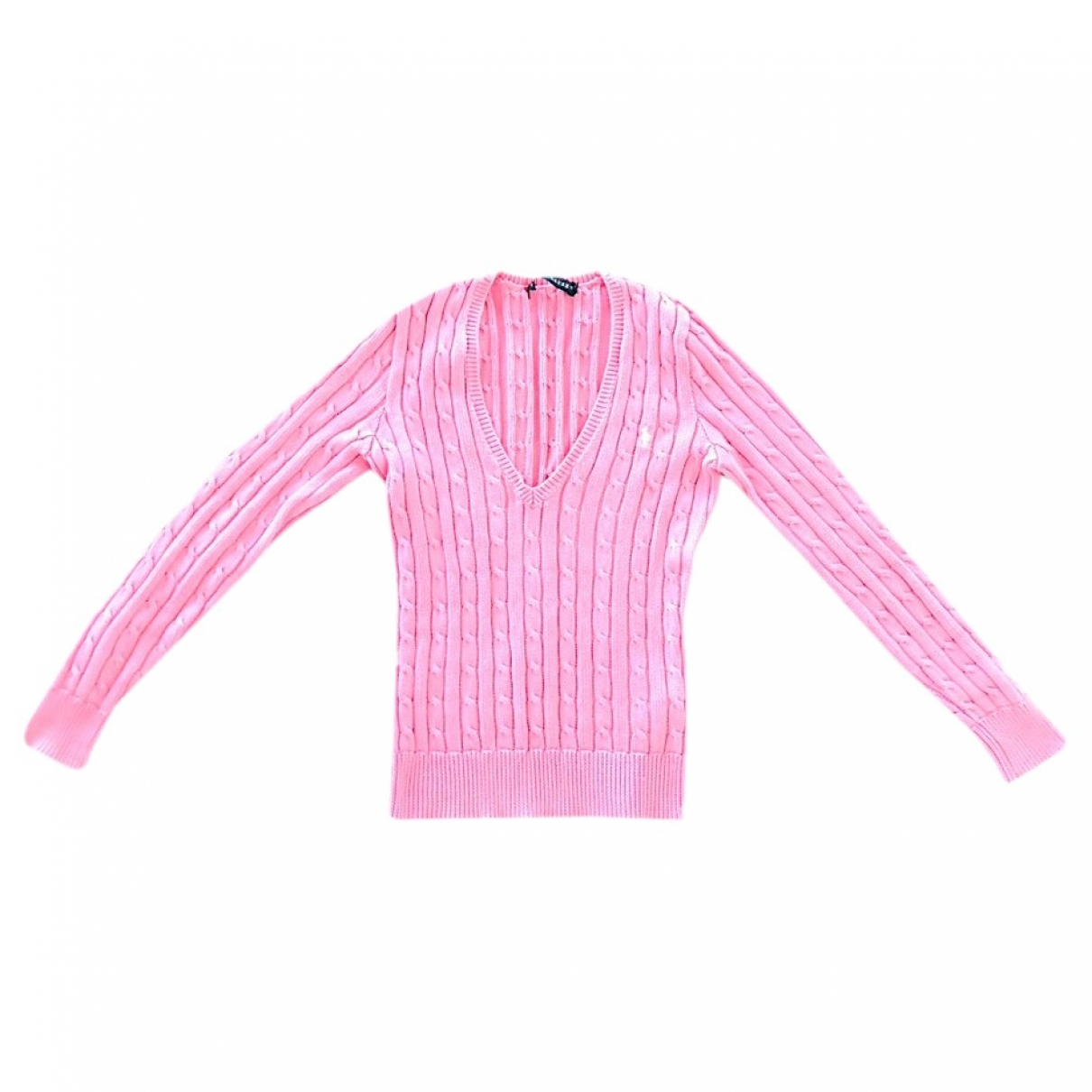Ralph Lauren \N Pullover in  Rosa Baumwolle