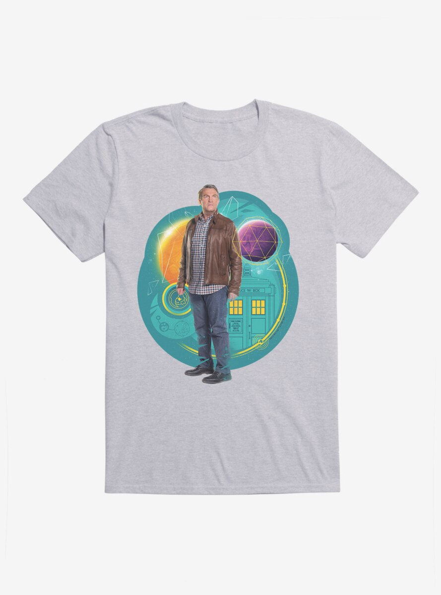 Doctor Who The Thirteenth Doctor Graham O'Brien T-Shirt