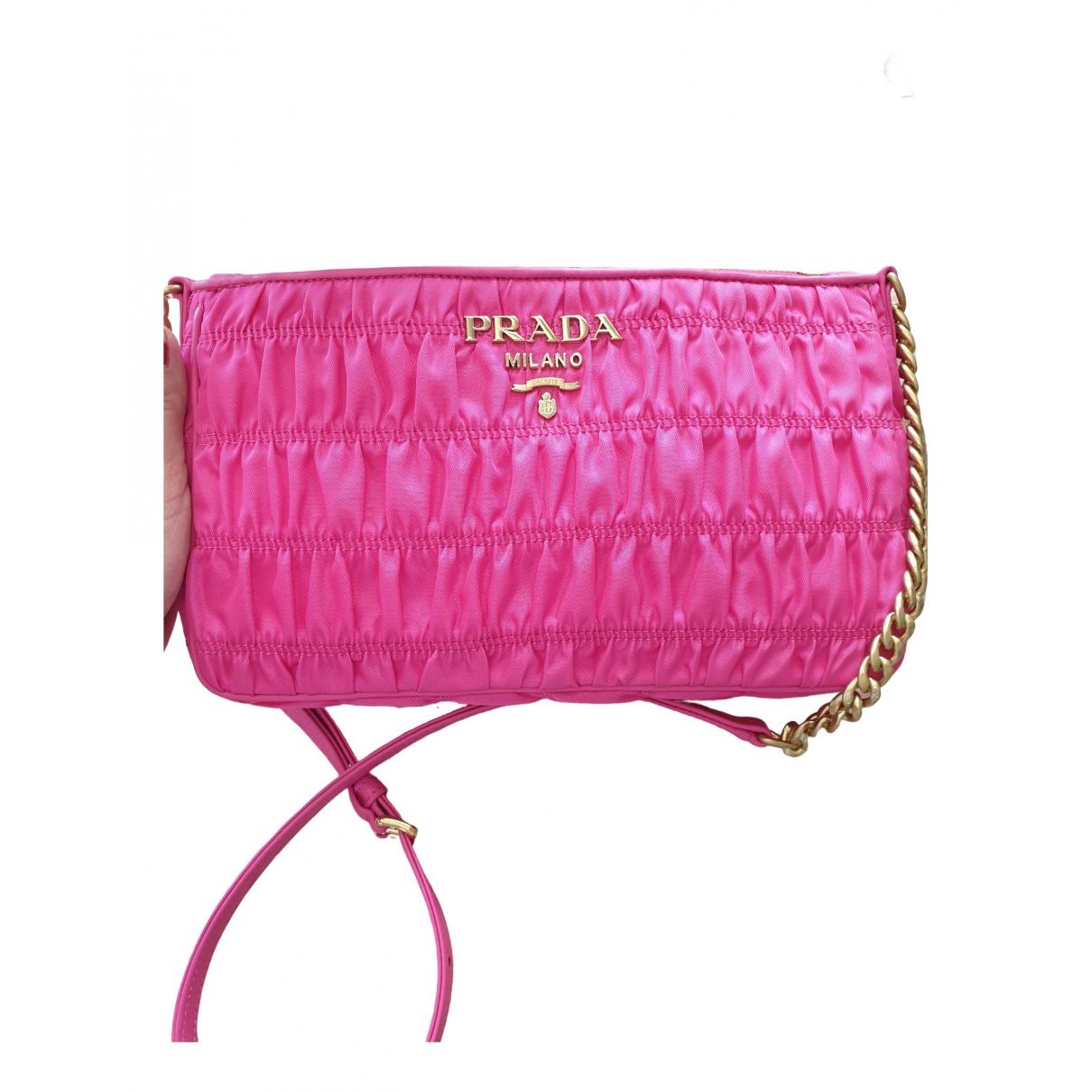 Prada \N Pink Cloth handbag for Women \N