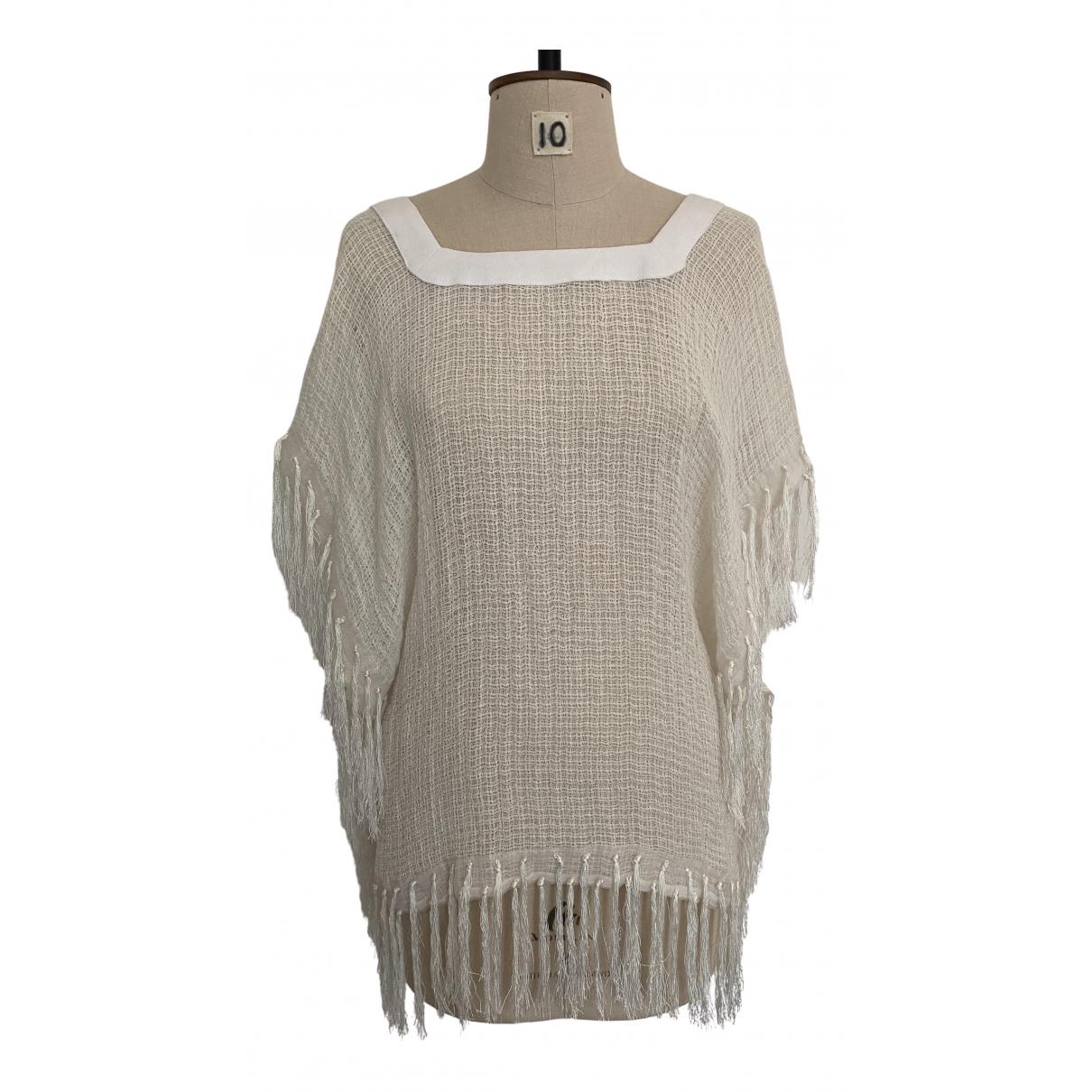Rodebjer \N White Linen  top for Women S International