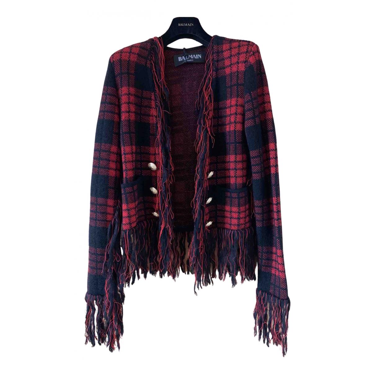 Balmain N Multicolour Wool jacket for Women 36 FR