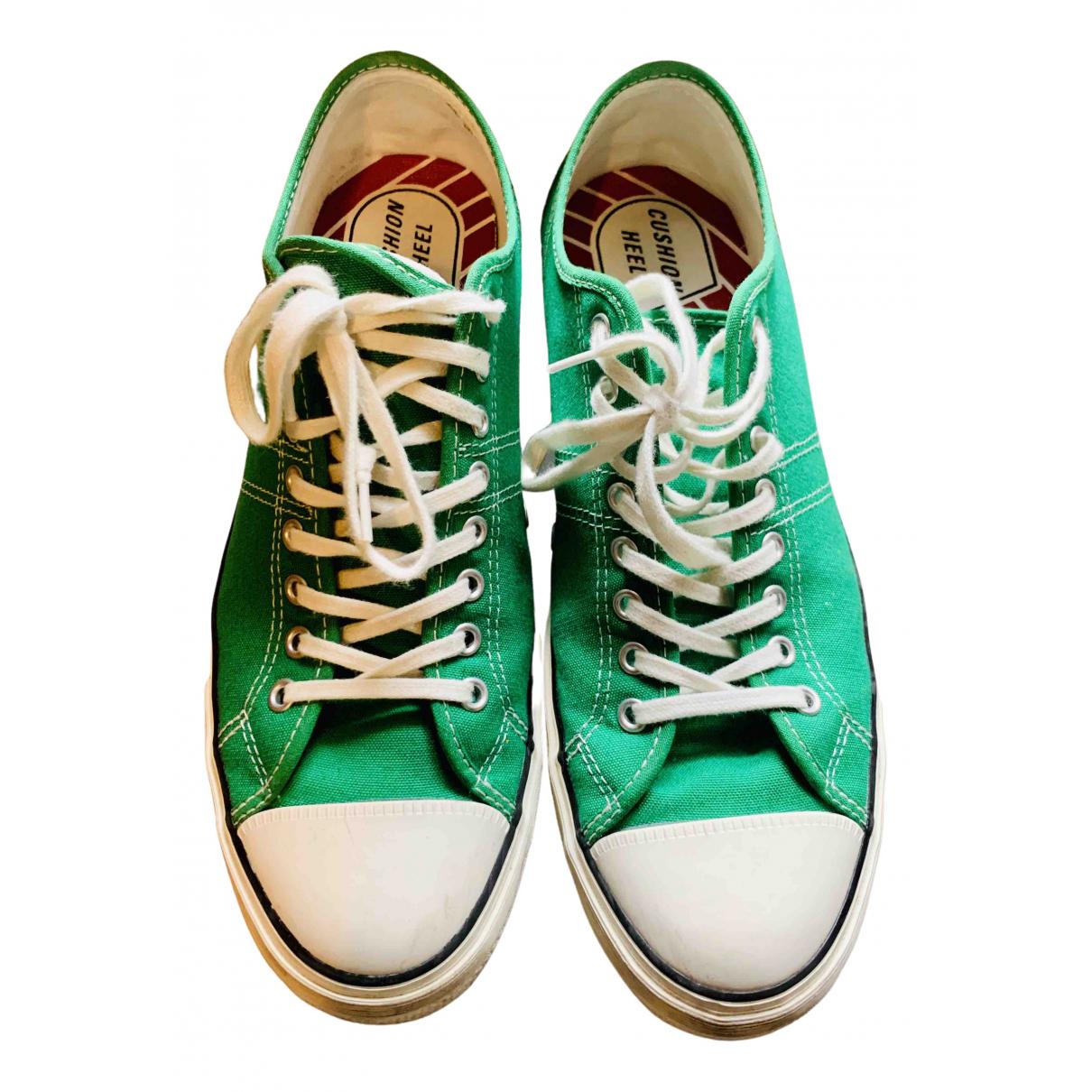 Converse - Baskets   pour homme en toile - vert
